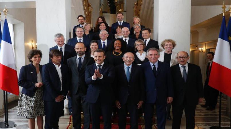 François Bayrou et l'annonce du nouveau gouvernement d'Édouard Philippe image