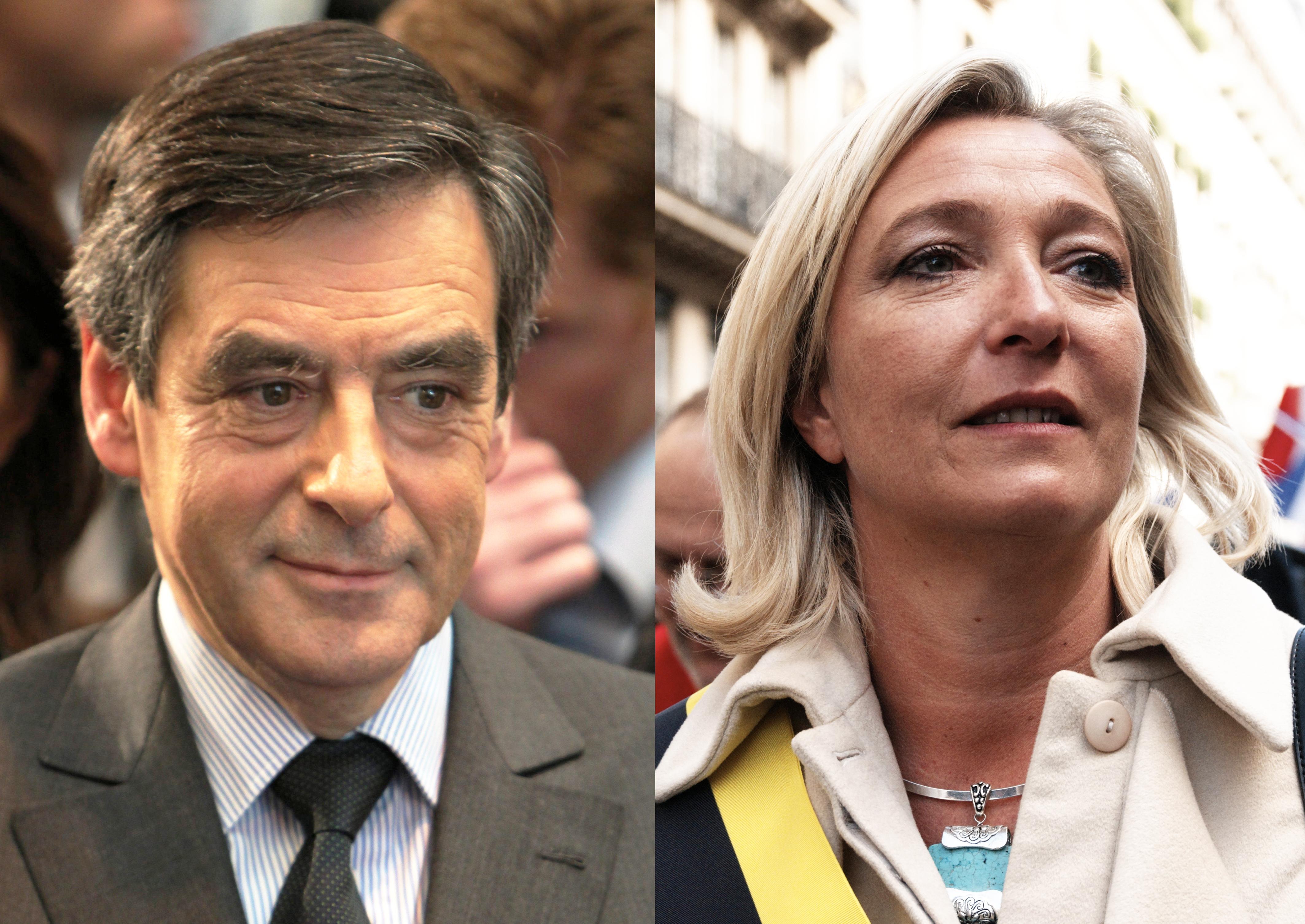 François Fillon fait-il flancher les électeurs de Marine Le Pen ? image
