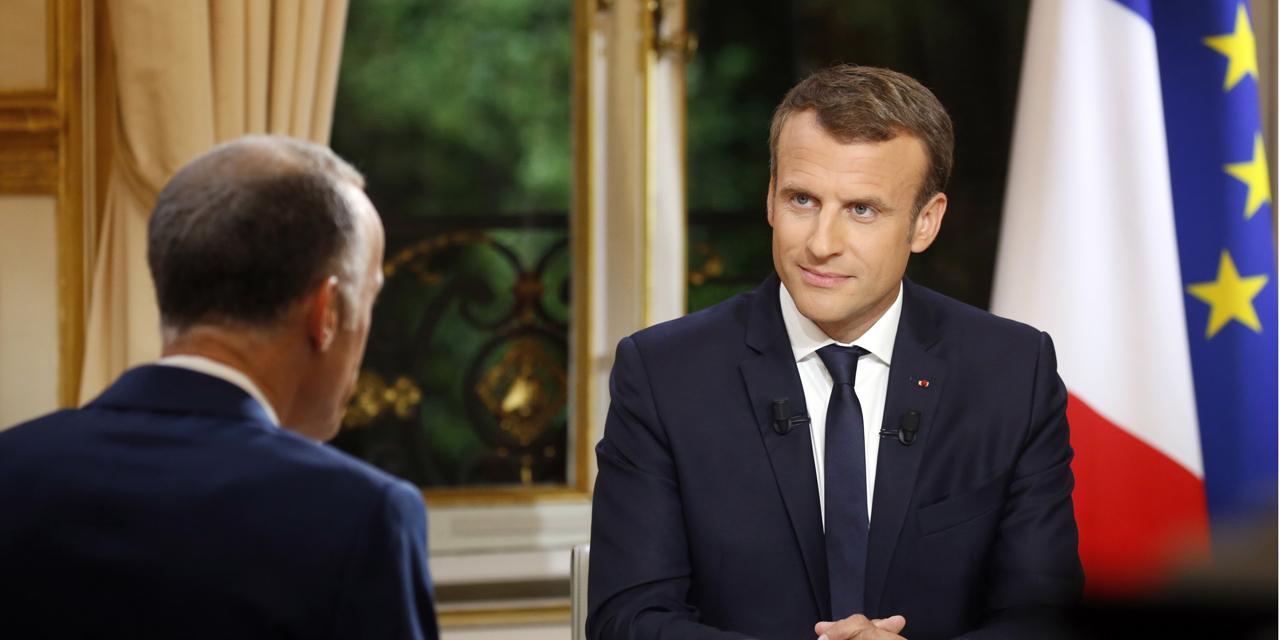 Réactions des Français à la première interview télévisée d'Emmanuel Macron en tant que Président de la République image