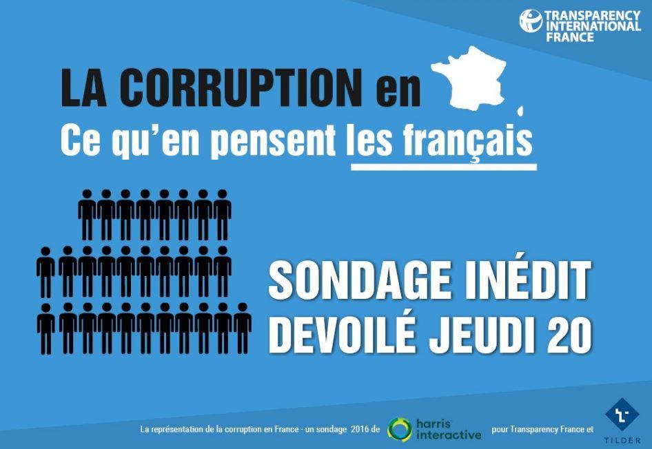 la représentation de la corruption en France image
