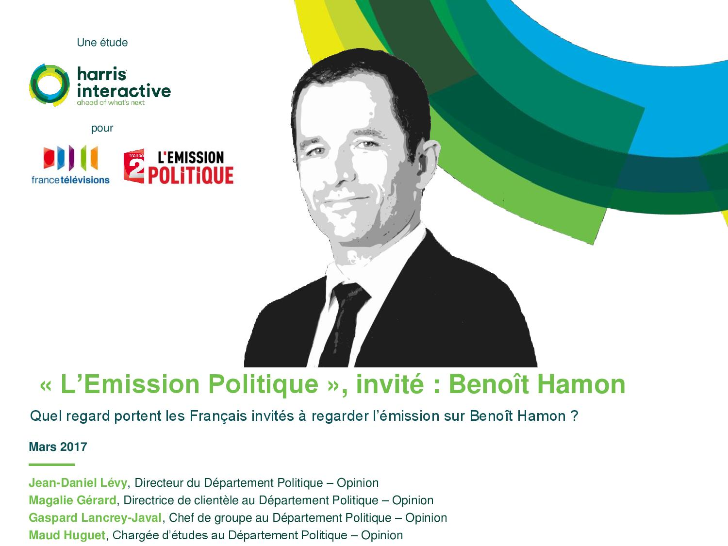 Rapport-Harris-Emission-Politique-0903-Benoit-HAMON-France Televisions---page-001