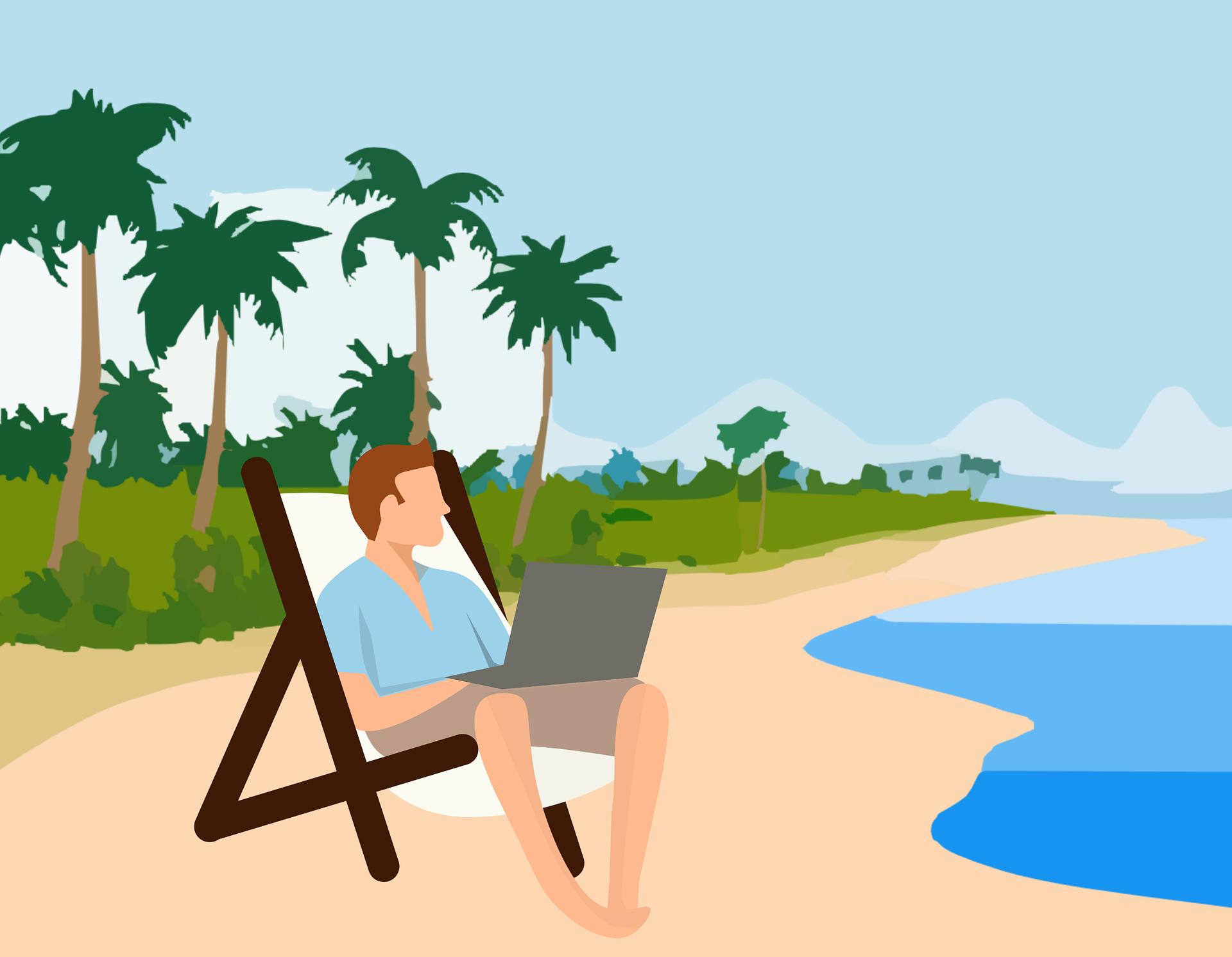Le besoin de connexion en vacances des Français et des salariés image