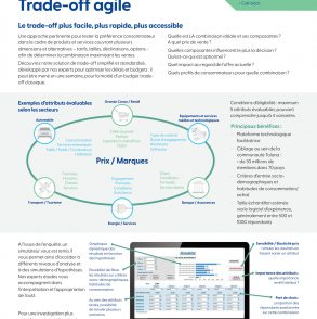 Trade-off agileimage