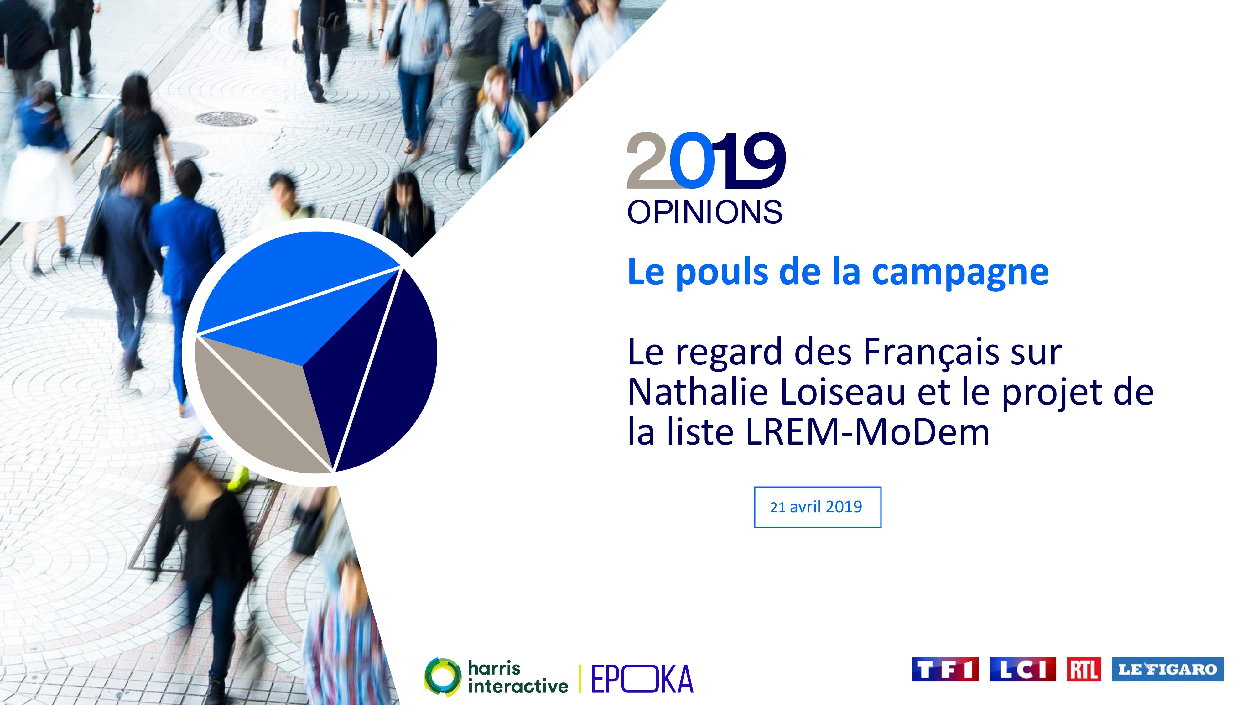 Le regard des Français sur Nathalie Loiseau et le projet de la liste LREM-MoDem image