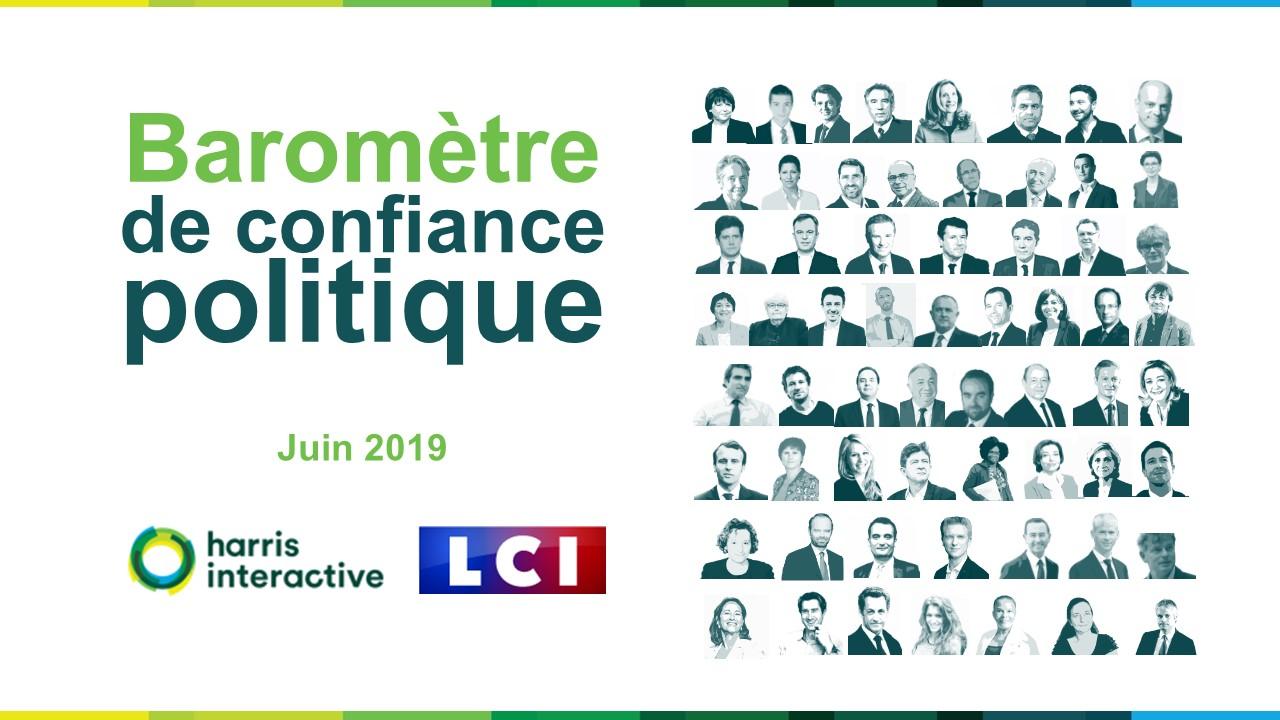 Baromètre de confiance politique – Juin 2019 image