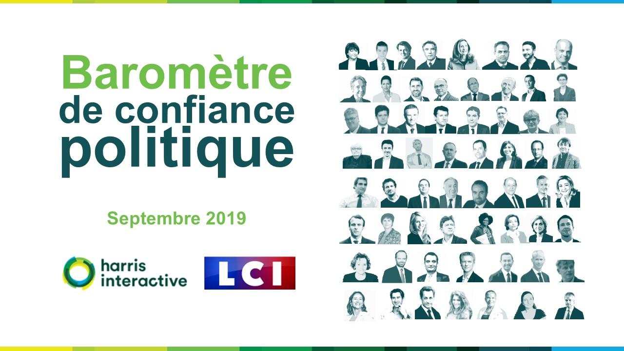Baromètre de confiance politique – Septembre 2019 image