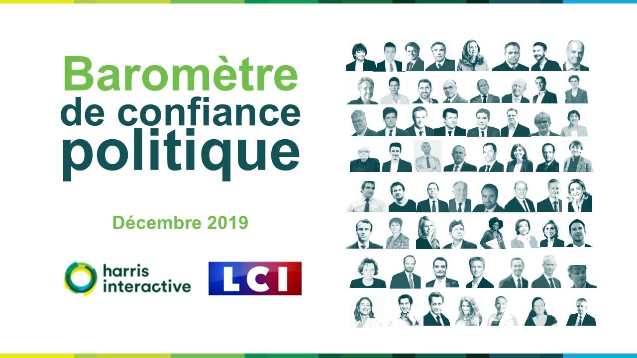 Baromètre de confiance politique – Décembre 2019 image