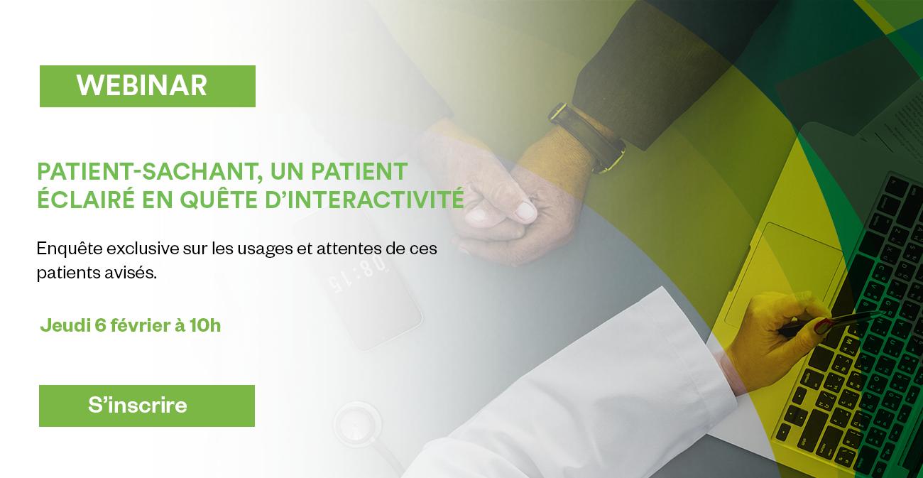 [webinar] Le patient-sachant, un patient éclairé en quête d'interactivité image