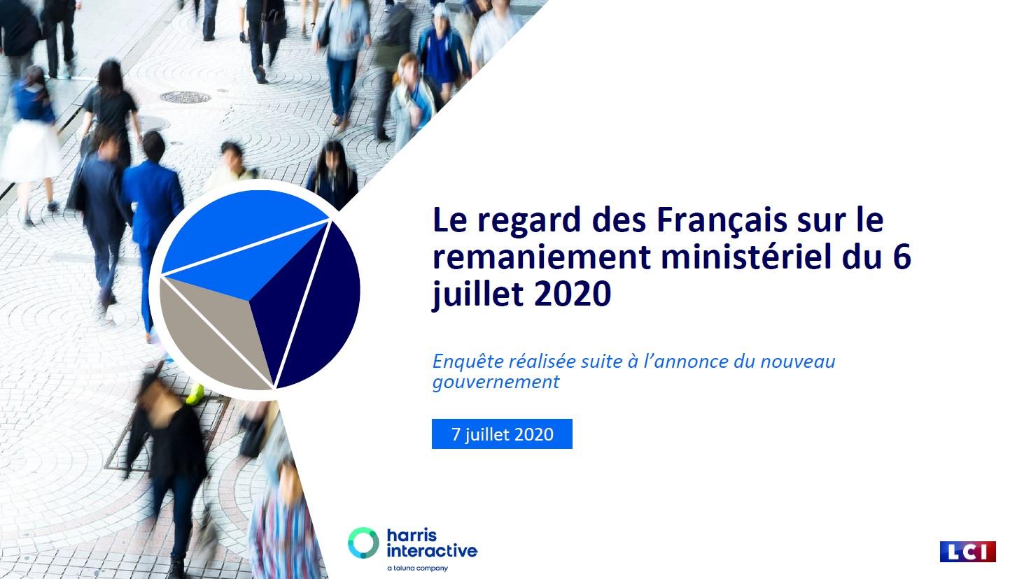 Le regard des Français sur le remaniement ministériel du 6 juillet 2020 image