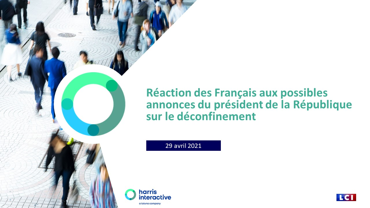 Réaction des Français aux possibles annonces du président de la République sur le déconfinement image