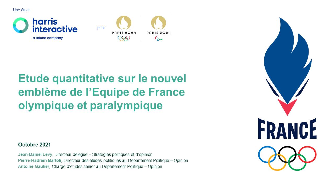 Le nouvel emblème de l'Equipe de France olympique et paralympique image