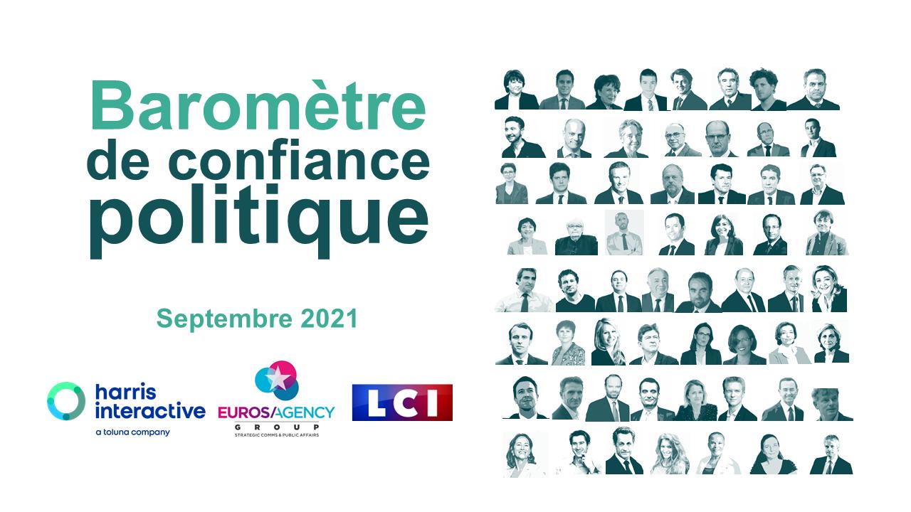 BAROMÈTRE DE CONFIANCE POLITIQUE LCI – EUROSAGENCY – SEPTEMBRE 2021 image